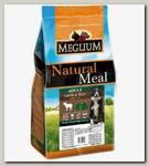 Корм для собак с чувствительным пищеварением Meglium Sensible, со вкусом ягненка и рисом
