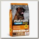 Сухой корм для взрослых собак крупных пород Nutram Sound Large Breed Adult Dog