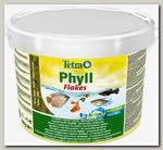Корм для всех видов рыб TetraPhyll растительные хлопья
