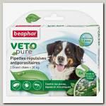Биокапли для собак крупных пород Beaphar Veto pure от паразитов