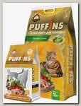 Корм для кошек Puffins, вкусная курочка