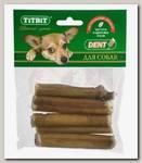 Лакомство для собак TitBit, Корень бычий резаный, мягкая упаковка