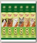 Лакомства для кошек B&b Allegro Cat мясные колбаски из Ягненка и Индейки 6шт