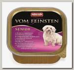 Консервы для стареющих собак Animonda Vom Feinsten Senior домашняя птица и ягненок