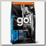 Сухой корм для щенков и собак Go! Solutions Skin + Coat Care Chicken Recipe с цельной курицей, фруктами и овощами