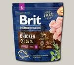 Сухой корм для щенков мелких пород Brit Premium by Nature Junior S