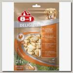 Лакомство для собак 8in1 Delights Косточки с куриным мясом