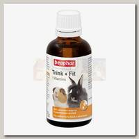 Кормовая добавка для грызунов и кроликов Beaphar Trink+Fit, 50 мл
