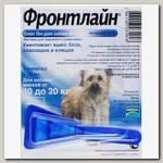 Капли для собак Merial Фронтлайн СПОТ-ОН M от 10 до 20 кг, 1пипетка