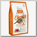 Корм для активных кошек и кошек уличного содержания Brit Care Cat Cheeky Outdoor