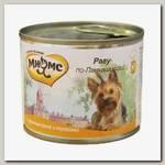 Консервы для собак Мнямс Рагу по-Ланкаширски, куриное филе с травами