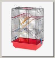 Клетка для грызунов, INTER-ZOO TEDDY II, с каруселью 37*25*51 см