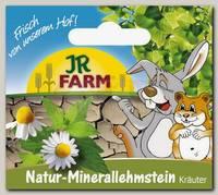 Витамины для грызунов JR FARM Натуральный минеральный суглинистый камень с цветками 1шт