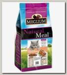 Корм для привередливых кошек Meglium Adult, со вкусом курицы и индейки