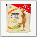 Корм для взрослых кошек Cat Chow Adult с домашней птицей