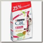 Cat Chow Special Care для кошек для здоровья мочевыводящих путей, с домашней птицей