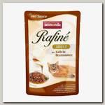 Консервы для кошек Animonda Rafine Soupe Adult, со вкусом коктейля из телятины в жареном соусе (пауч)