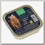 Консервы для кошек Четвероногий Гурман Petibon Smart Паштет с курицей и телятиной