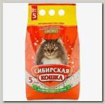 Наполнитель для длинношерстных кошек Сибирская Кошка Экстра, впитывающий