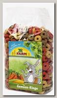 Лакомство для грызунов JR FARM Овощные колечки