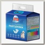 Подгузники для животных 25-40 кг Cliny, размер XXL 6 шт
