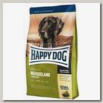 Сухой корм для взрослых собак Happy Dog Supreme Sensible Neuseeland Ягненок с рисом