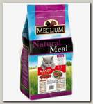 Корм для привередливых кошек Meglium Adult, со вкусом говядины