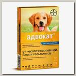 Капли для собак более 25 кг Bayer GL Адвокат 400, 3 пипетки