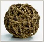 Игрушка для грызунов Beeztees Мячик из плетёной соломы