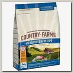 Сухой корм для щенков Country Farms Монопротеиновый, полнорационный, с высоким содержанием курицы