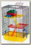 Клетка для грызунов, комплект INTER-ZOO TEDDY II 37*25*51 см