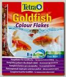 Корм для золотых рыб TetraGoldfish Colour в хлопьях для улучшения окраса