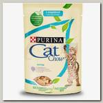 Консервы для котят Cat Chow Kitten с индейкой и кабачками в желе