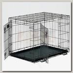 Клетка для животных MidWest Life Stages 2 двери черная
