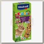 Лакомство для кроликов Vitakraft Kracker Wald & Holunderbeere лесные ягоды, крекеры 2 шт