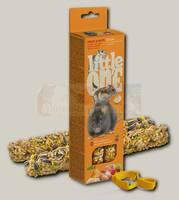 Палочки для хомяков, крыс, мышей и песчанок Little One с фруктами и орехами