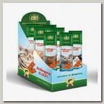 Лакомства для кошек B&b Allegro Cat рыбные колбаски из Лосося и Форели 60шт (Шоу-бокс)