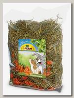 Сено для грызунов JR Farm с добавлением моркови