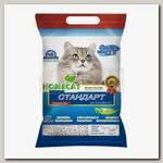 Наполнитель для кошачьего туалета HomeCat Эколайн Стандарт, комкующийся