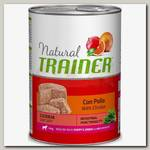 Консервы для щенков и юниоров средних и крупных пород Trainer Natural Medium&Maxi Puppy & Junior с курицей