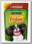 Консервы для собак Friskies Adult, ягненок (пауч)
