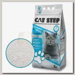Наполнитель для кошачьего туалета Cat Step Compact White Original Комкующийся, минеральный