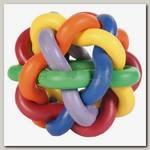 Игрушка для собак Trixie Мяч плетеный, каучук