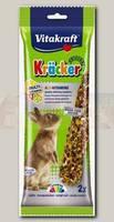 Лакомство для кроликов Vitakraft Крекеры мультивитамин 2 шт