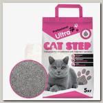 Наполнитель для кошачьего туалета Cat Step Professional Ultra комкующийся, минеральный