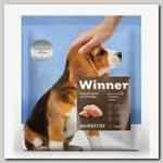 Сухой корм для щенков средних пород Winner курица