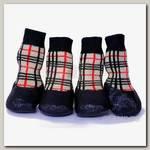 Носки для прогулки БАРБОСки с латексным покрытием Размер L