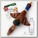 Игрушка для собак Gigwi Птица с пластиковой бутылкой с пищалкой в крышке
