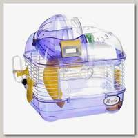 Клетка для хомяка KREDO со счетчиком, 33,5*25*28 см