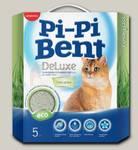 Наполнитель для кошачьего туалета Pi-Pi Bent DeLuxe Fresh Grass, Комкующийся, коробка